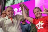 Lula e Gleisi participam de ato político neste sábado (21) em São Paulo