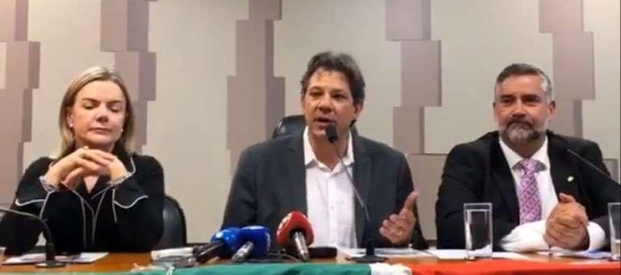 Haddad anuncia 2 frentes por direitos e cogita processo contra WhatsApp nos EUA