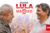 Lula, Haddad e Manuela: PT e PCdoB anunciam chapa nacional