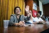 """Dilma no Rio: """"Golpe explica por que temos a mais egoísta, atrasada e irresponsável elite"""""""