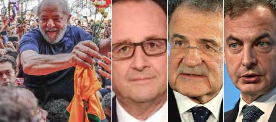 Seis líderes europeus manifestam apoio a Lula e pedem sua presença nas eleições
