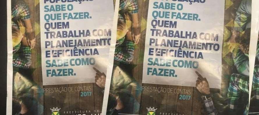 Ao invés da Saúde, prefeito prefere gastar mais de R$700 mil em jornal publicitário