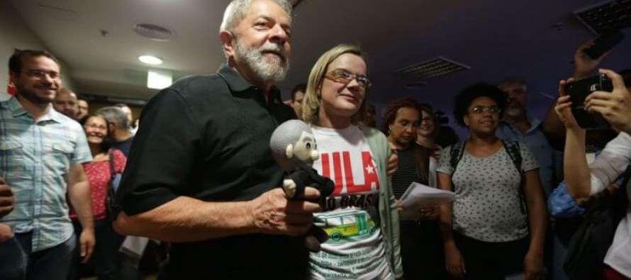 Gleisi Hoffmann: Vamos construir um novo projeto para o Brasil
