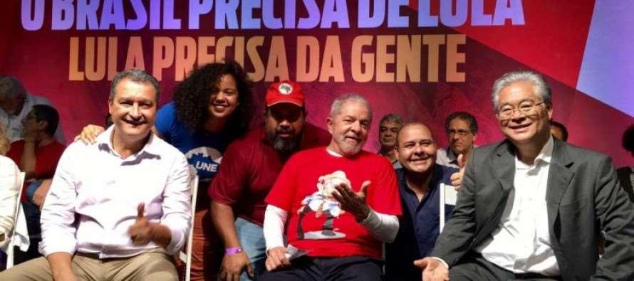 """Lula: """"Quero andar pelo País para mexer com consciência do povo"""""""