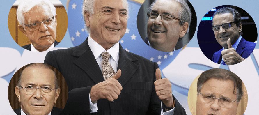 """Relatório da PF: Temer comandava o """"quadrilhão do PMDB"""" e recebeu R$ 31,5 milhões em vantagens"""
