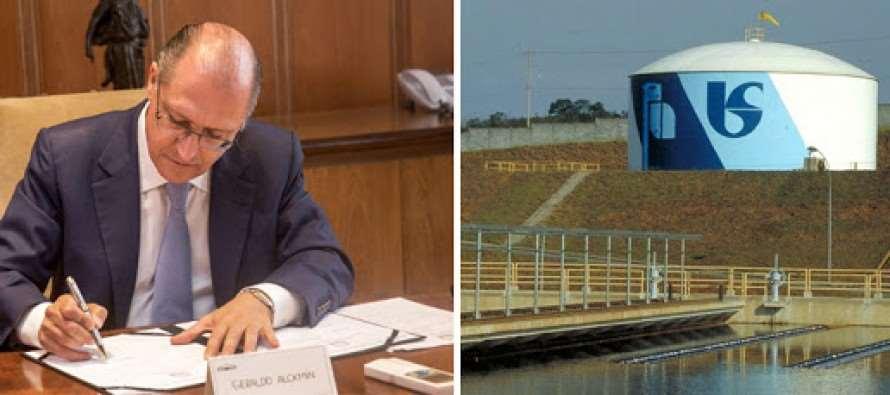 """Para evitar prejuízos à Sabesp, Alckmin cria """"gatilho"""" que aumenta a conta de água"""