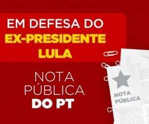 Nota Oficial: Lula é candidato do povo brasileiro