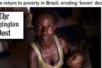 A face mais dramática do golpe, o aumento da pobreza no Brasil, é notícia internacional